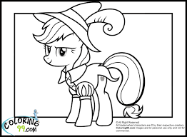 Small Picture my little pony applejack in funny costume coloring pagesjpg 1500