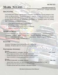 Auto Mechanic Resume Template Nmdnconference Com Example Resume