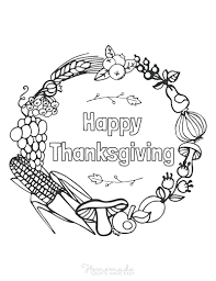 The printables for kids are instant downloads and you can you will receive one pdfs with 6 coloring sheets. 70 Thanksgiving Coloring Pages For Kids Adults Free Printables