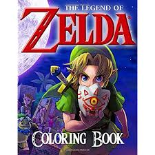 From zelda wiki, the zelda encyclopedia. The Legend Of Zelda Coloring Book 50 Great Coloring Pages For Kids And Teens Books Lulu 9781708583200 Amazon Com Books