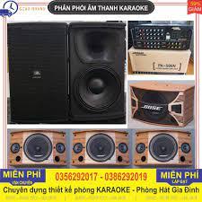 Thanh lý dàn karaoke gia đình gồm 2 cặp 4 Loa BOSE A800 ME + 1 cặp 2 Loa  sân khấu JBL 6012 + đầy đủ cả Âm li 506