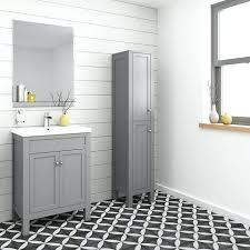 grey bathroom cabinet grey bathroom cabinets with white countertops