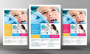 children hospital flyers 20 dental flyer templates printable psd ai vector eps format