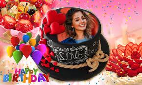 name photo on birthday cake happy birthday app