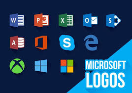 Microsoft Icons New Logos Vector Download Free Vector Art Stock