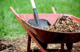 garden materials. Applying A Garden Mulch Materials E