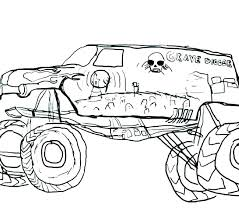 Hot Wheels Monster Truck Colouring Pages Monster Trucks Coloring