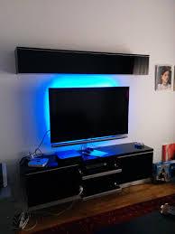 ikea besta lighting. Combination Of Elegant Brown Ikea Besta Tv Stand And Storage In Good Lighting Decoration