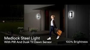 Mirrorstone Lighting Ltd Led Bulkhead Light Dusk Till Dawn Light Feather Studios