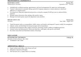 Templates For A Resume Resume Examples For Warehouse Worker