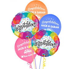 New Home Congratulations Personalised Balloons (25) Congratulations Party