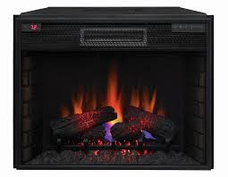 28 spectrafire infrared quartz electric fireplace insert 28ii200gra