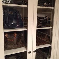 closet org bag storage via webstagram