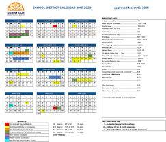 Academic Calendar 2020 17 Template Special Days In The School Year 2019 2020 Calendar