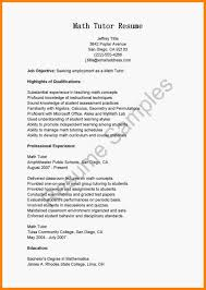 Tutor Resume Sample Math Tutor Resume Sample Teacher Template Job Description Mathtutorr 16