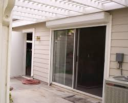 sliding glass door shutters southern