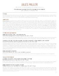 Creative Resume Sample Young Creative Director A Resume Samples ...