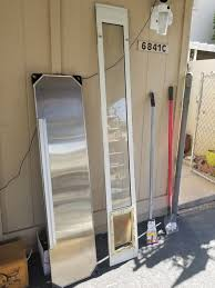 sliding glass door extender w small pet door dog cat doggy kitty pet supplies in scottsdale az offerup