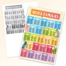 Word Families Smart Chart Top Notch Teacher Products Inc