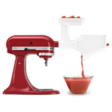 kitchenaid juicer and sauce attachment. kitchenaid® fruit and vegetable strainer attachment - fvsfga kitchenaid juicer sauce r