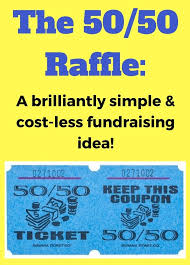50 50 raffle sign template the 50 50 raffle fundraiser a super simple and effective