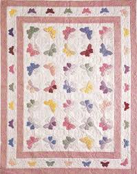 253 best Butterfly Applique Quilts / Patterns images on Pinterest ... & This Butterfly quilt is approximately 5 x 6 inches. It would be lovely on a  bed or as an accent quilt on a piece of furniture. Adamdwight.com