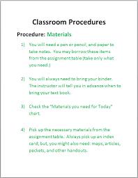 Classroom Assignment Chart Materials John W Roberts Comprehensive Classroom