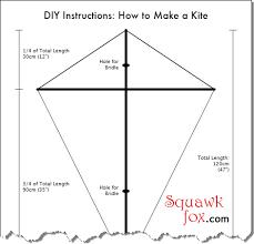 Tetrahedron Kite Template Diy Kite Designs How To Make A Kite ...