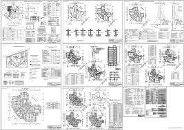 Строительство курсовые работы и дипломные работы Чертежи РУ Дипломный проект 15 тиэтажный жилой дом в г