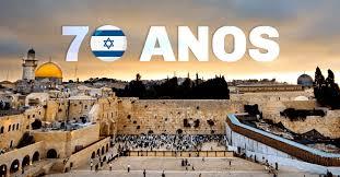 Resultado de imagem para imagens dos 70 anos de israel