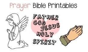 Small Picture Prayer Coloring Page