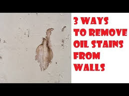 easy ways remove oil from walls life