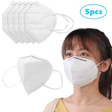 5xpcs Ce Ffp1 Ffp2 Ffp3 face Mask foldable Earloop Face Mask ...