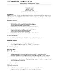 Resume For Customer Service Representative Adorable Resume For Customer Service Representative Entry Level Customer