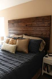 wooden headboard designs for best of best 25 diy headboard wood ideas only on barn