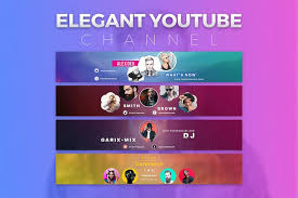 Youtube Template Psd 200 Best Youtube Banner Templates 2019