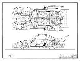 porsche 935 76 schematics technical drawings porsche 935 76 schematics technical drawings products and porsche
