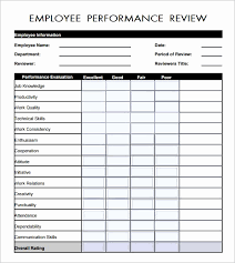 New Employee Evaluation Template Church Employee Evaluation Forms Luxury 57 Collection Employee