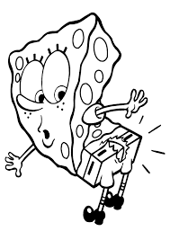 Small Picture Spongebob Coloring Pages Coloring Kids