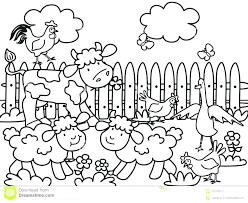 Farm Coloring Pages Printable Tractor Coloring Pages Printable Farm
