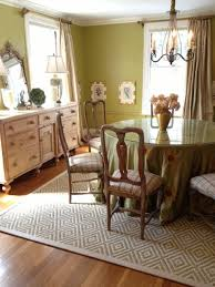 bordered sisal area rug in dining room transitional dining room area rugs sizes