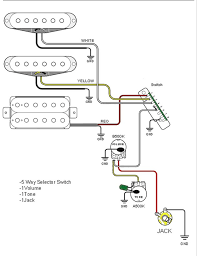 wiring diagram guitar selector switch wiring diagram jeff baxter guitar wiring diagrams 2 pickups at Wiring Diagram Guitar