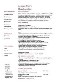 job description for a dentist entry level dental assistant resume resume examples pinterest