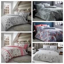 details about 2019 brand new brushed cotton flannel flannelette duvet set cover double king