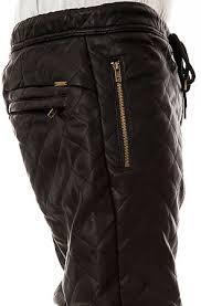 KITE Pants Quilted Vegan Leather Jogger Black - Karmaloop.com & ... The Quilted Vegan Leather Jogger Pants in Black ... Adamdwight.com