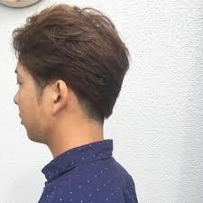 面長な男性に似合う似合わない髪型34選ショートパーマツーブロック