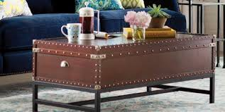 A tree trunk coffee table with a unique design is the eye catcher in the room. Best Trunk Coffee Tables 10 Stylish Coffee Tables With Storage