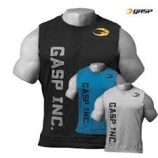 Gasp Clothing Size Chart Gasp 3045 Tank Top Gym Clothes Tops Thermal Hoodie
