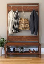 Boot Bench With Coat Rack How To Make An Entrance They Won't Forget The Joinery 1