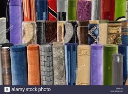 carpet roll. carpet roll display